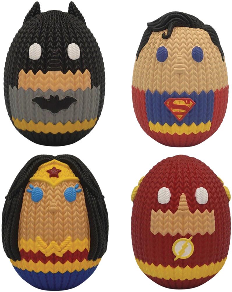 Bensussen Deutch - Dc Comics Hmbr Mini Egg 4pk (Net) (Clcb) (Fig)