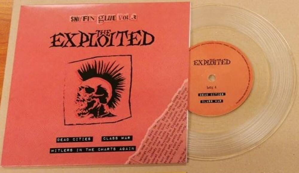 Exploited - Deadcities / Class War [Colored Vinyl] (Hol)