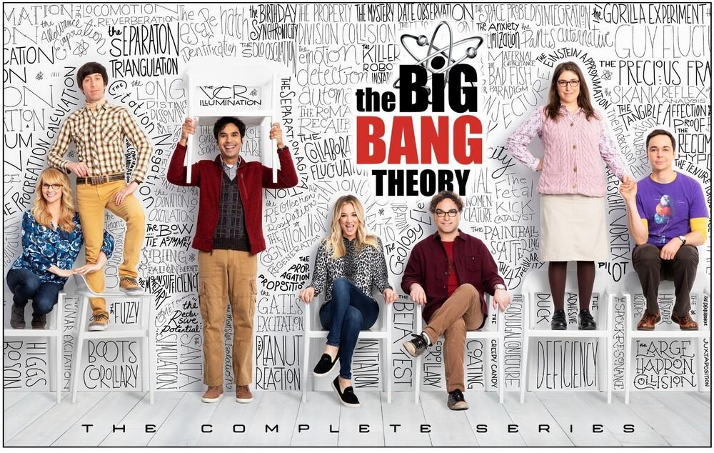 - Big Bang Theory: Complete Series (25pc) / (Box Wb)