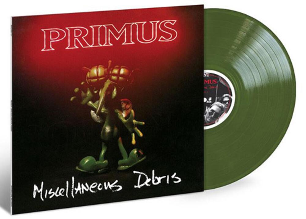 Primus - Miscellaneous Debris EP [Olive Green Vinyl]