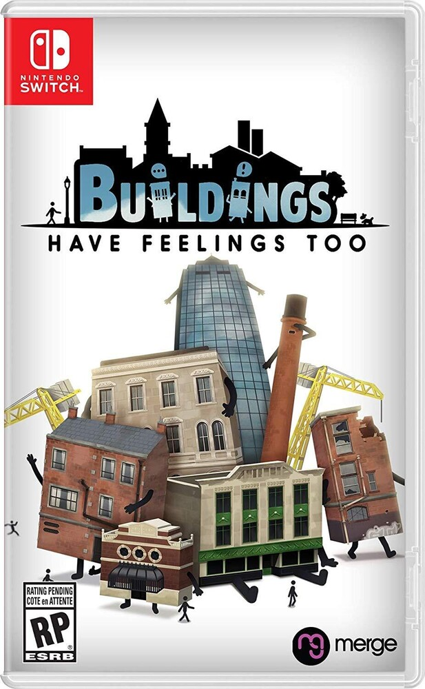 Swi Buildings Have Feelings Too! - Buildings Have Feelings Too! for Nintendo Switch