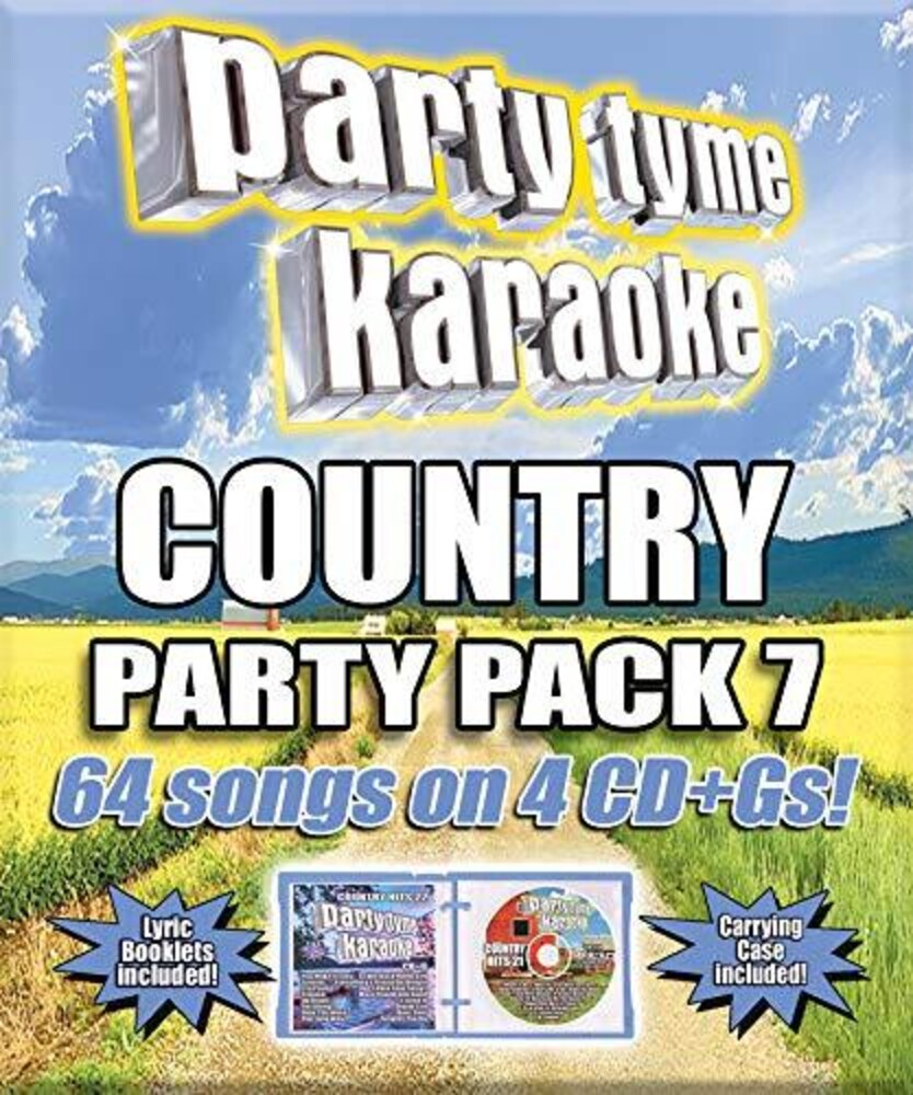 Party Tyme Karaoke Country Party Pack 7 / Various - Party Tyme Karaoke: Country Party Pack 7 / Various