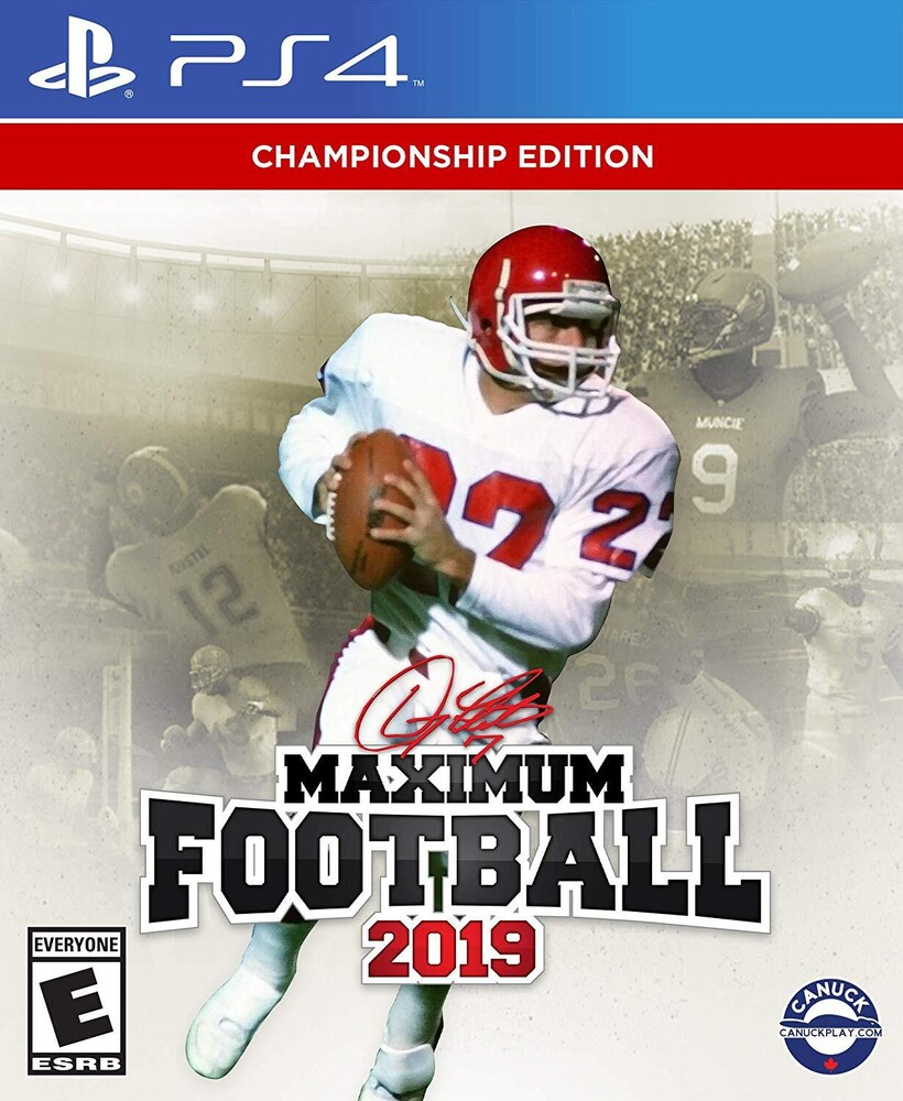 - Maximum Football 2019 for PlayStation 4