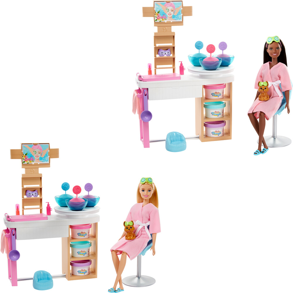 Barbie - Mattel - Barbie Fab Spa Day Face Mask Playset Assortment