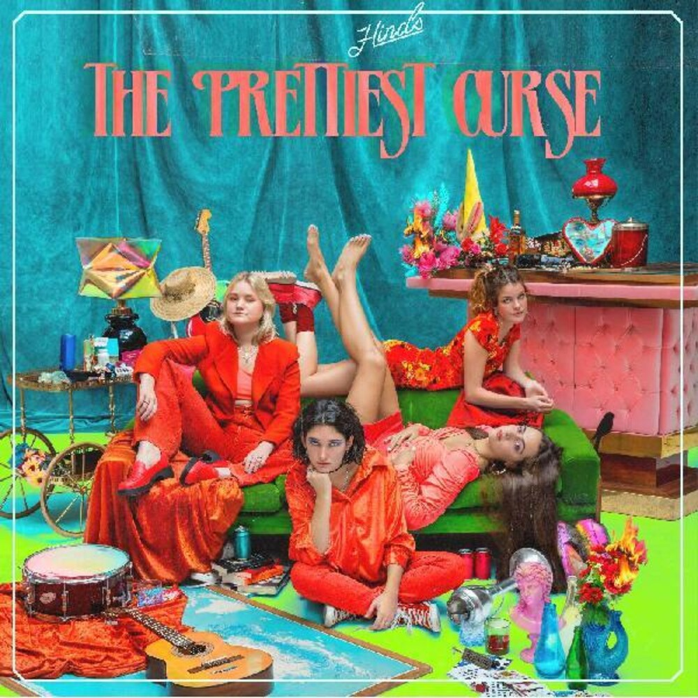 Hinds - The Prettiest Curse [Indie Exclusive Limited Edition Translucent Red LP]