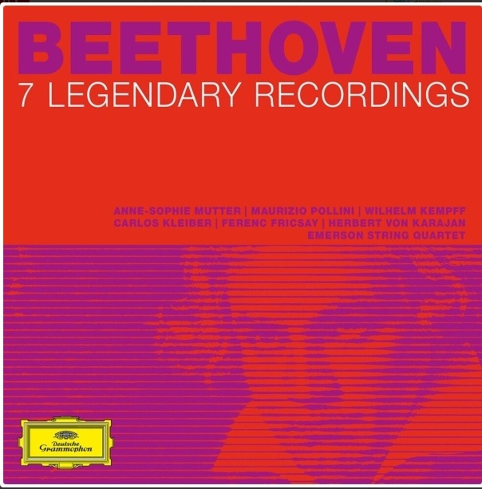 Beethoven 7 Legendary Albums / Various Box - Beethoven: 7 Legendary Albums