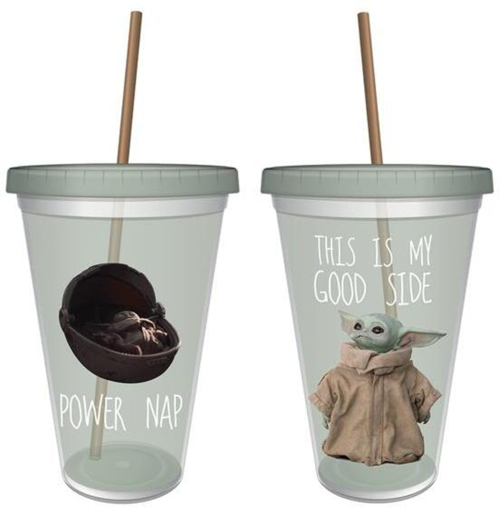 Star Wars: Mandalorian 16Oz Acrylic Cup - Star Wars: The Mandalorian 16Oz Acrylic Cup
