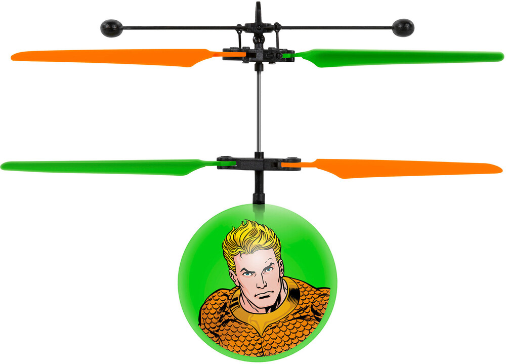- DC Justice League: Aquaman IR UFO Ball Helicopter (DC, Justice League, Aquaman)
