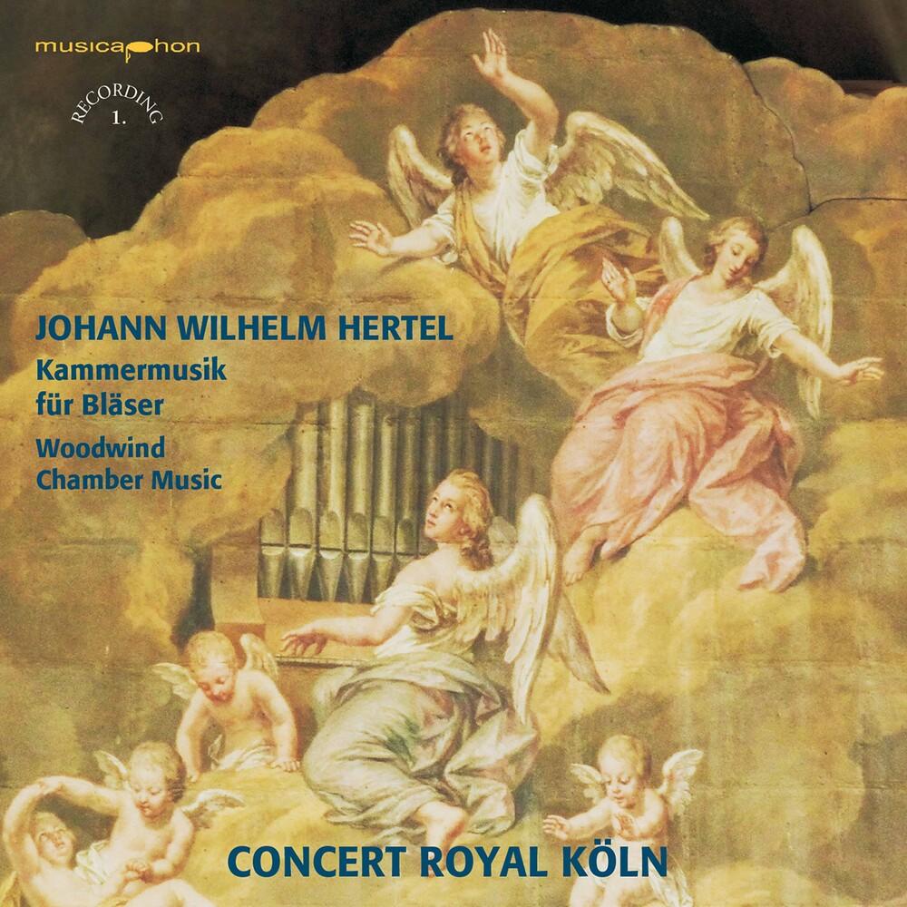 Hertel / Concert Royal Koln / Schroter - Kammermusik Fur Blaser (Hybr)