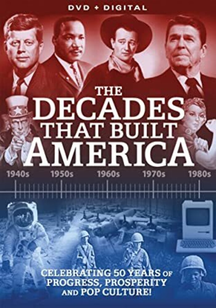 Decades That Built America - Decades That Built America (5pc) / (Box Ws)