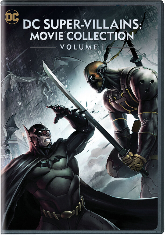 - Dc Super-Villains: Movie Collection 1 (2pc)