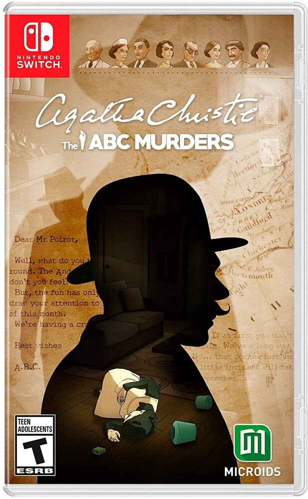Swi Agatha Christie: The ABC Murders - Agatha Christie: The ABC Murders for Nintendo Switch