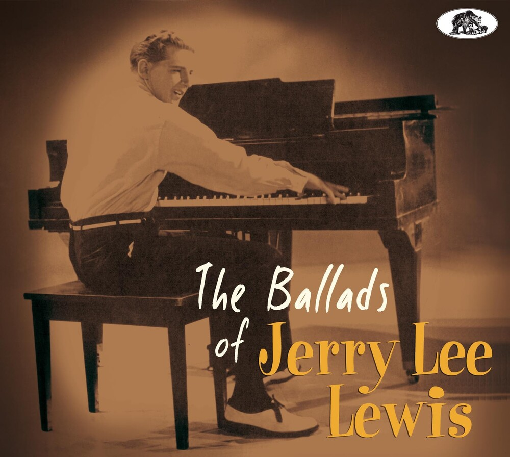 Jerry Lewis Lee - Ballads Of Jerry Lee Lewis [With Booklet] [Digipak]