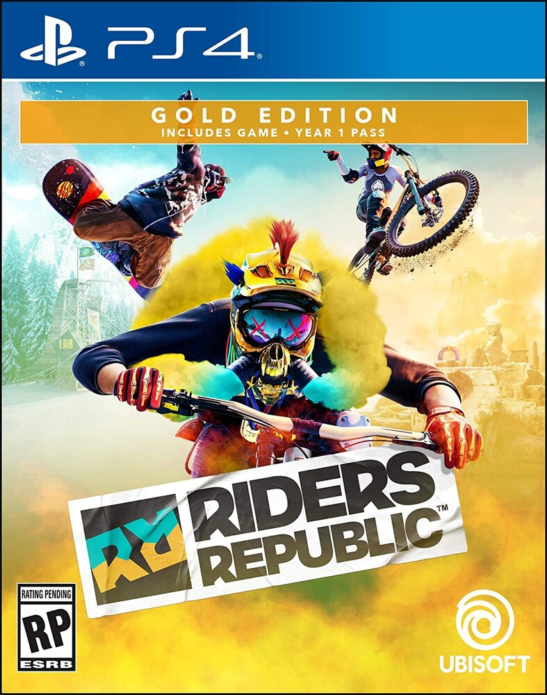 Ps4 Riders Republic - Gold Edition - Riders Republic Gold Edition for PlayStation 4