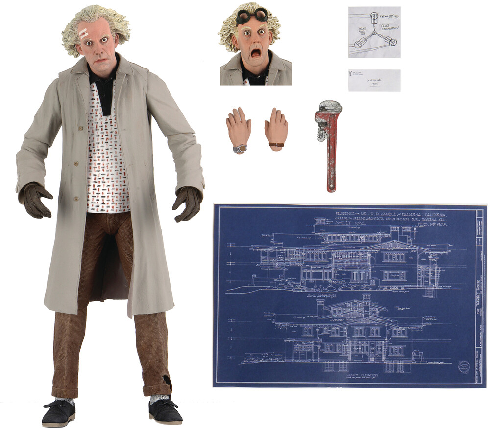 - NECA - Back To The Future Doc Brown Ultimate 7In Action Figure