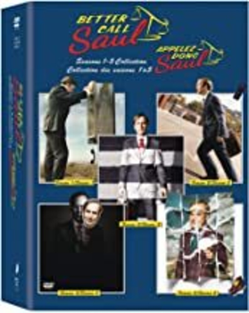 Better Call Saul [TV Series] - Better Call Saul: Seasons 1-5 [NTSC/0 DVD Boxset With English-French Bilingual Packaging]