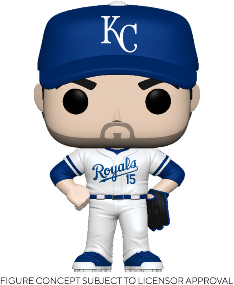 Funko Pop! MLB: - FUNKO POP! MLB: Royals- Whit Merrifield (Home Uniform)