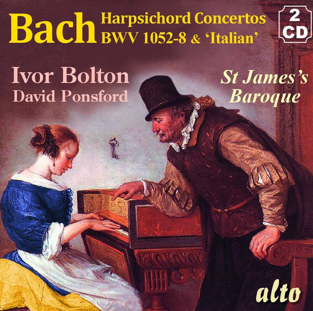 Ivor Bolton / StJames Baroque Players - J.S. Bach Concertos For Harpsichord & Strings; Bwv