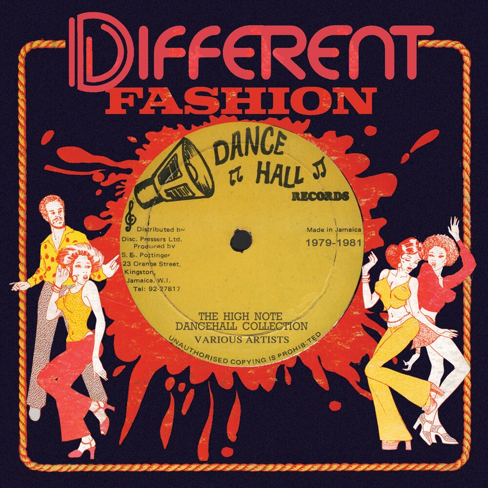 Different Fashion: High Note Dancehall Collection - Different Fashion: High Note Dancehall Collection / Various