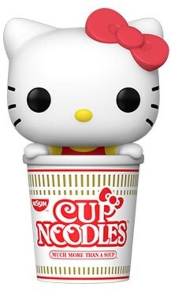 Funko Pop! Sanrio: - FUNKO POP! SANRIO: HelloKittyxNissin- Hello Kitty in Noodle Cup