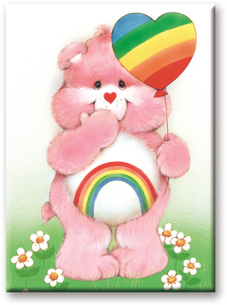 Care Bears Cheer Bear 2.5 X 3.5 Flat Magnet - Care Bears Cheer Bear 2.5 x 3.5 Flat Magnet