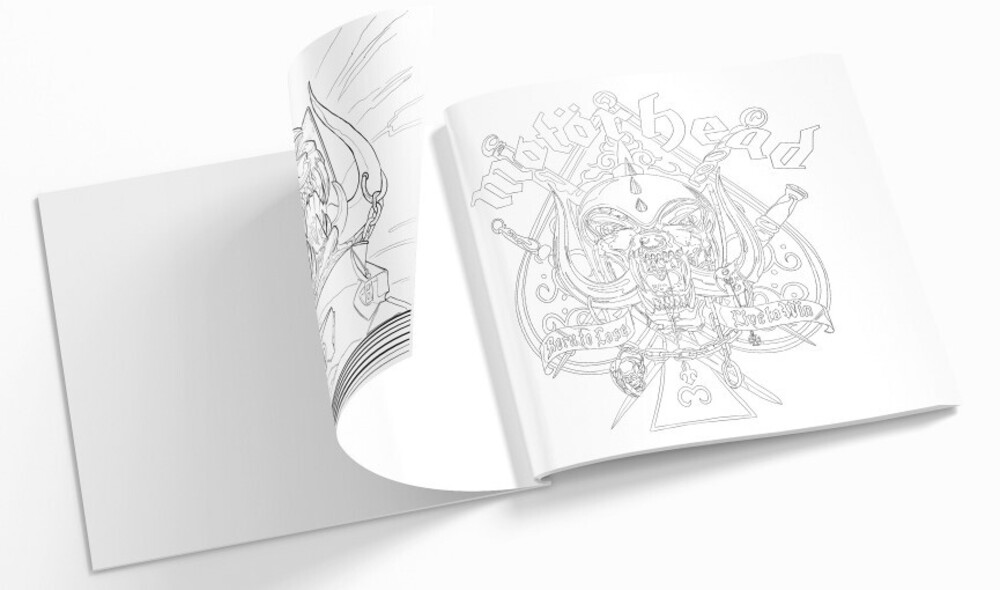 Motorhead Official Coloring Book - Motorhead Official Coloring Book