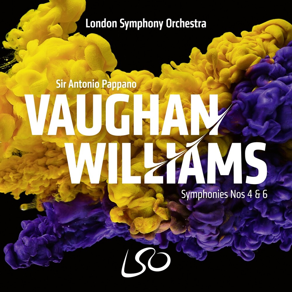 Lso / Antonio Pappano - Vaughan Williams: Syms Nos. 4 & 6