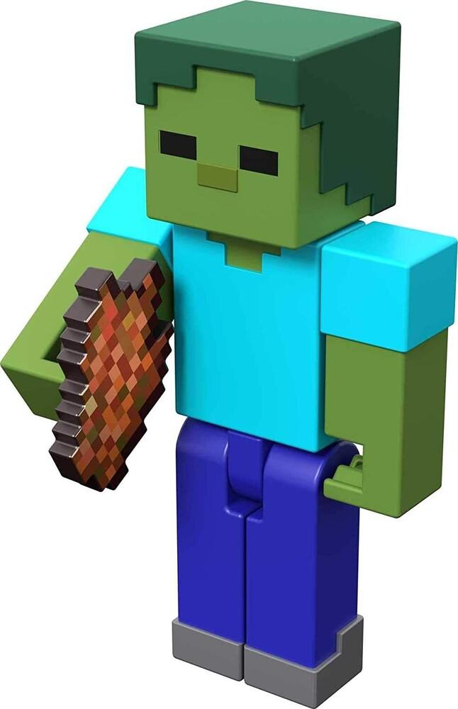 - Mattel Collectible - Minecraft 3.25 Zombie