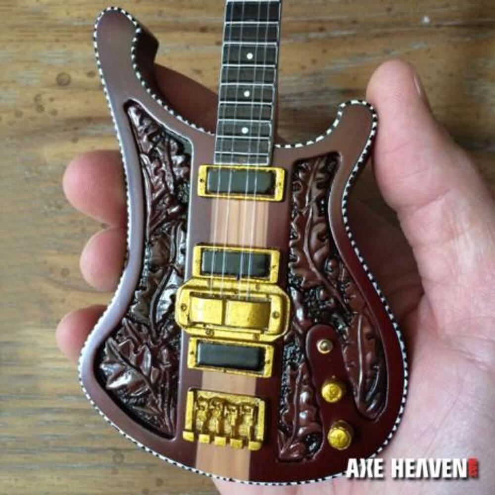 - Lemmy Motorhead Signature Carved Mini Bass Guitar
