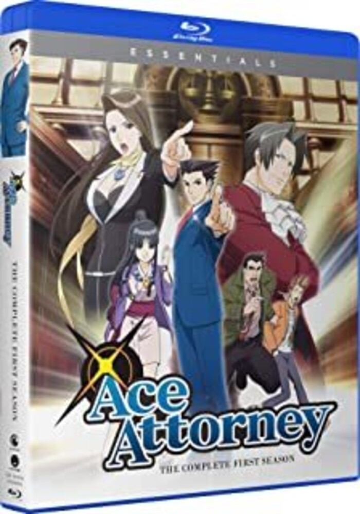 - Ace Attorney: Complete Season 1 (4pc) / (Box Digc)