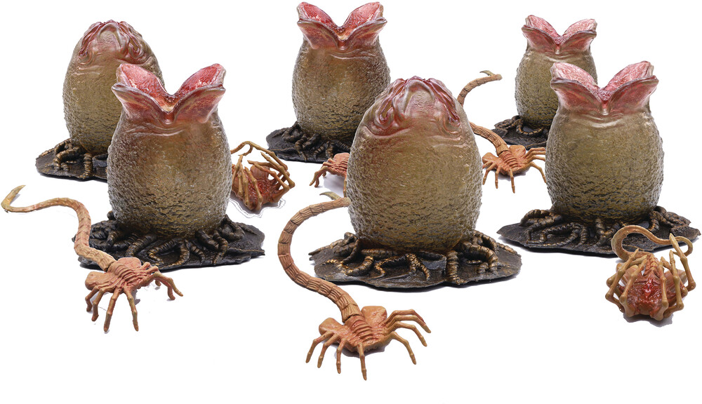 - Alien Eggs And Facehugger 1/18 Scale Set (Clcb)