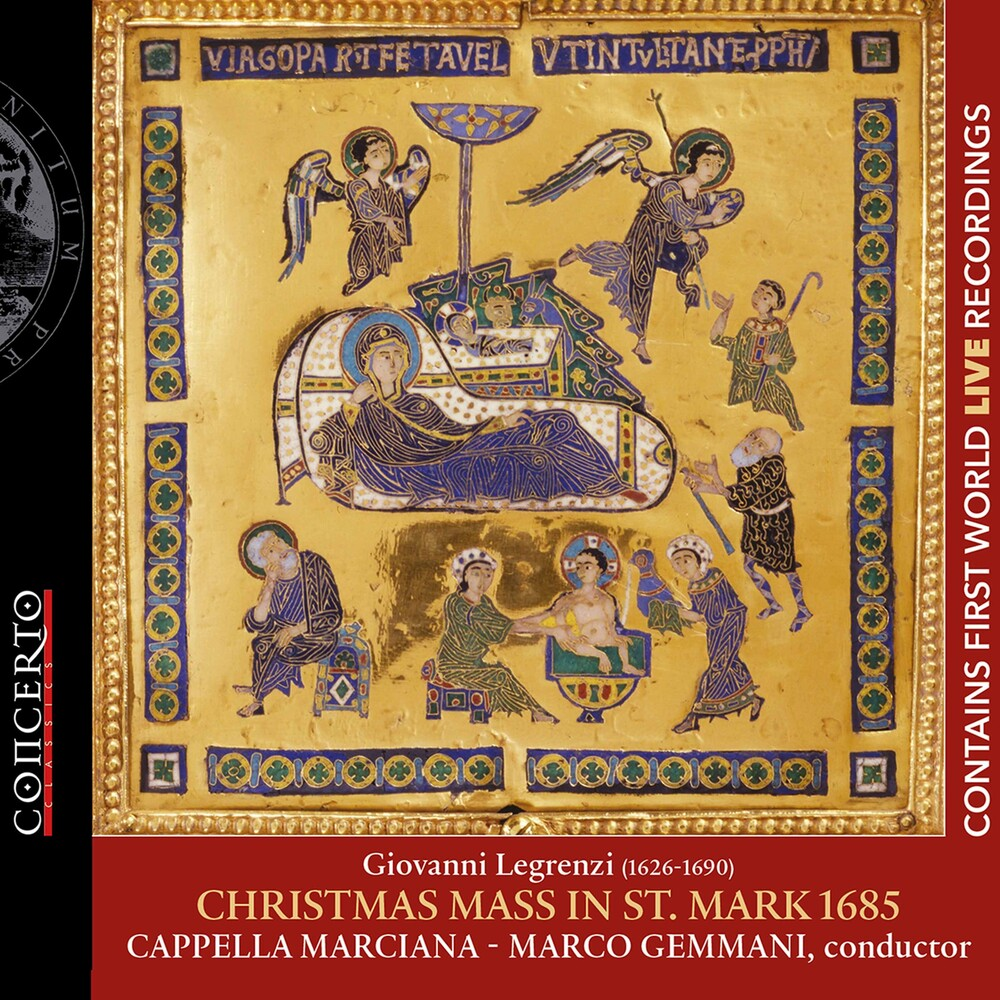 Legrenzi / Gemmani / Cappella Marciana - Christmas Mass St Mark 1685