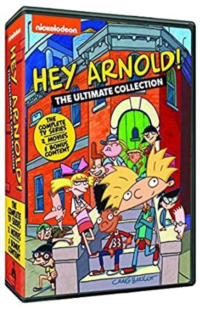 - Hey Arnold: Ultimate Collection (18pc) / (Box Ac3)