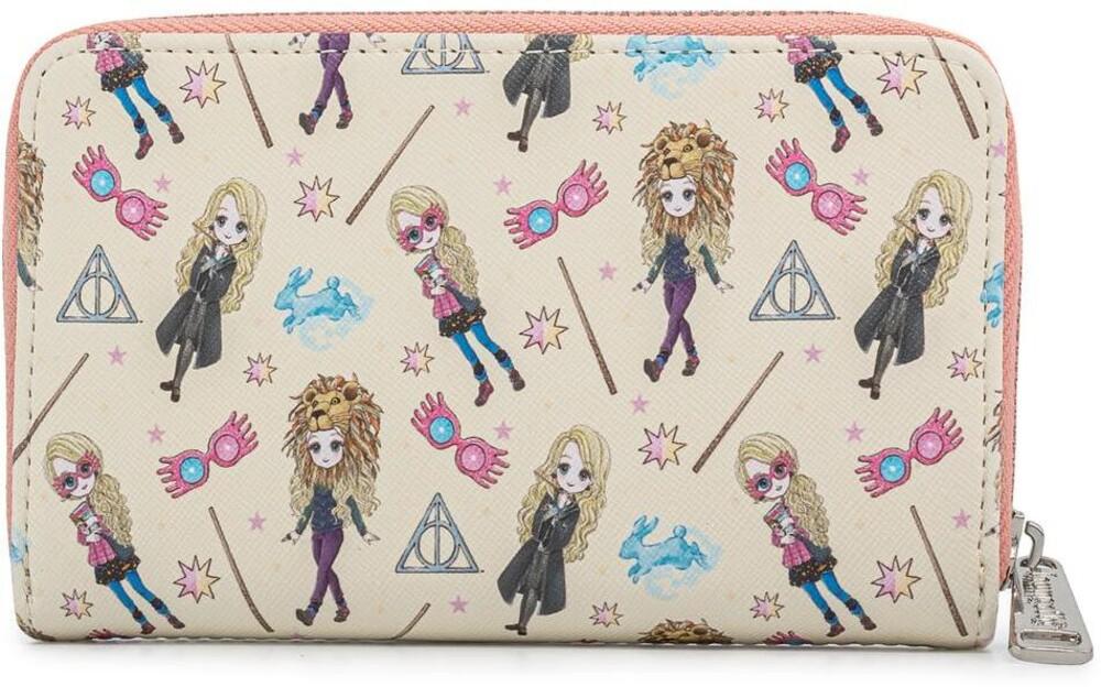 Loungefly Harry Potter: - Luna Lovegood All Over Print Zip Around Wallet