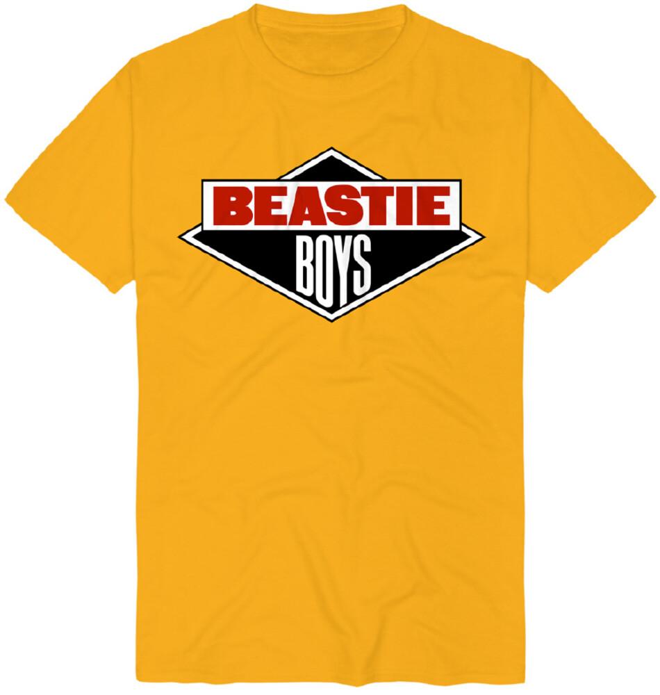 - Beastie Boys Diamond Logo Gold Ss Tee L (Gol) (Lg)