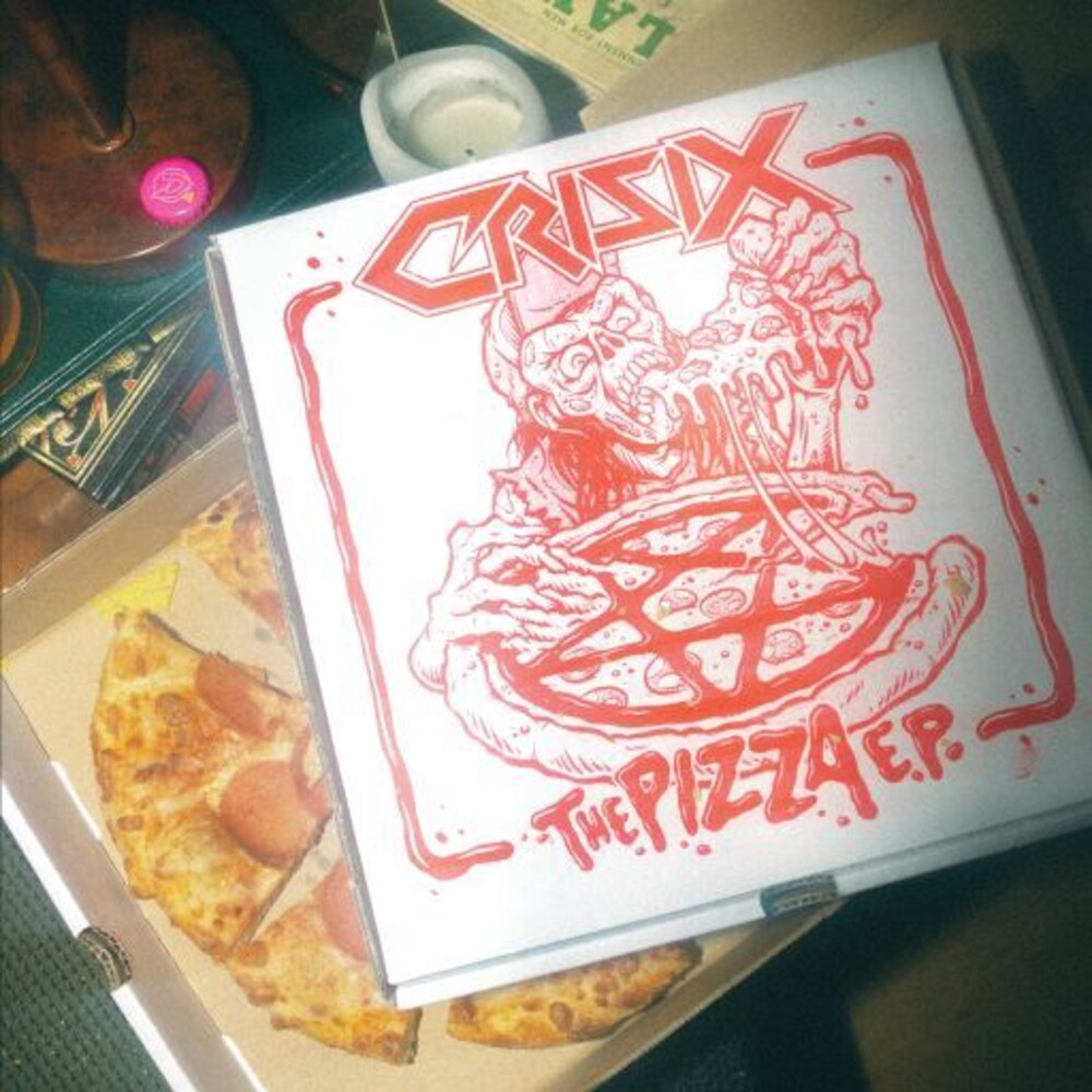 Crisix - The Pizza Ep (Red Vinyl) [Colored Vinyl] [Limited Edition] (Red)