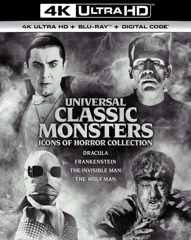 Universal Classic Monsters: Icons of Horror Coll - Universal Classic Monsters: Icons of Horror Collection