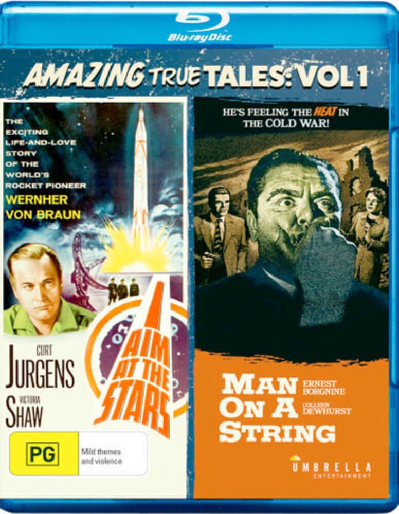 Amazing True Tales Vol 1: I Aim at the Stars & Man - Amazing True Tales Vol 1: I Aim At The Stars & Man On A String [All-Region/1080p]
