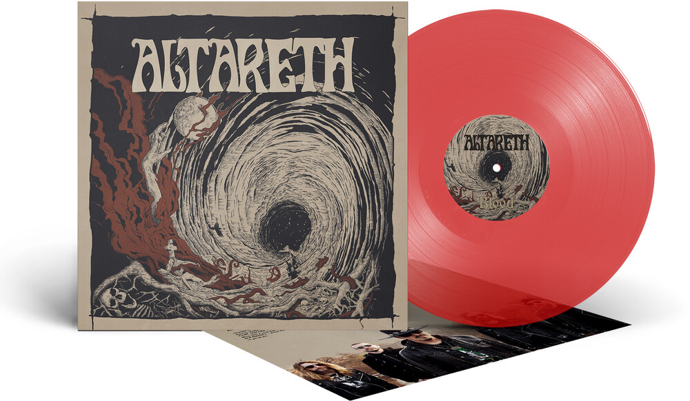 Altareth - Blood (Translucent Red Vinyl) [Colored Vinyl] (Red)
