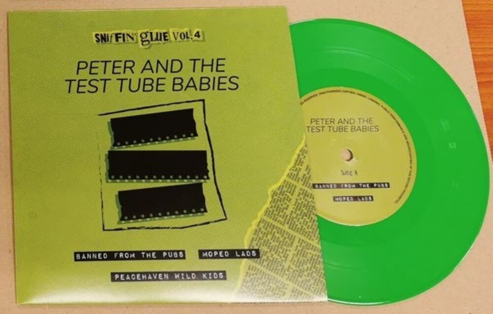 Peter & The Test Tube Babies - Banned From The Pubs / Moped Lads [Colored Vinyl] (Hol)