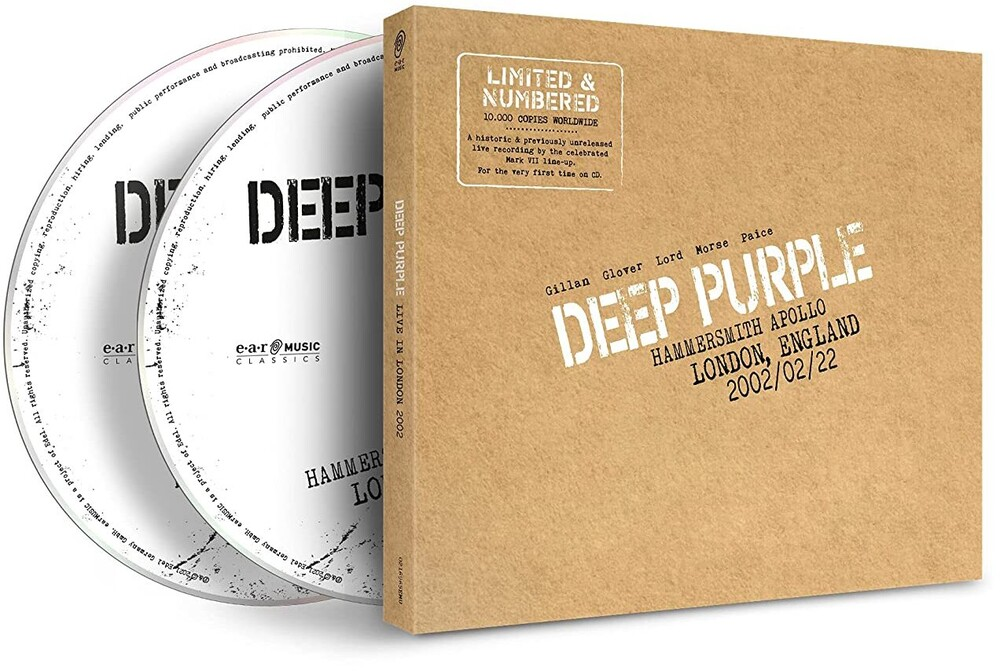 Deep Purple - Live In London 2002 (Uk)