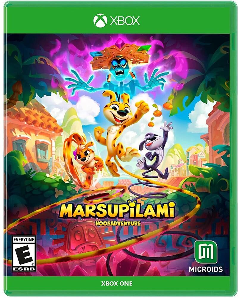 Xb1 Marsupilami: Hoobadventure - Marsupilami: Hoobadventure for Xbox One