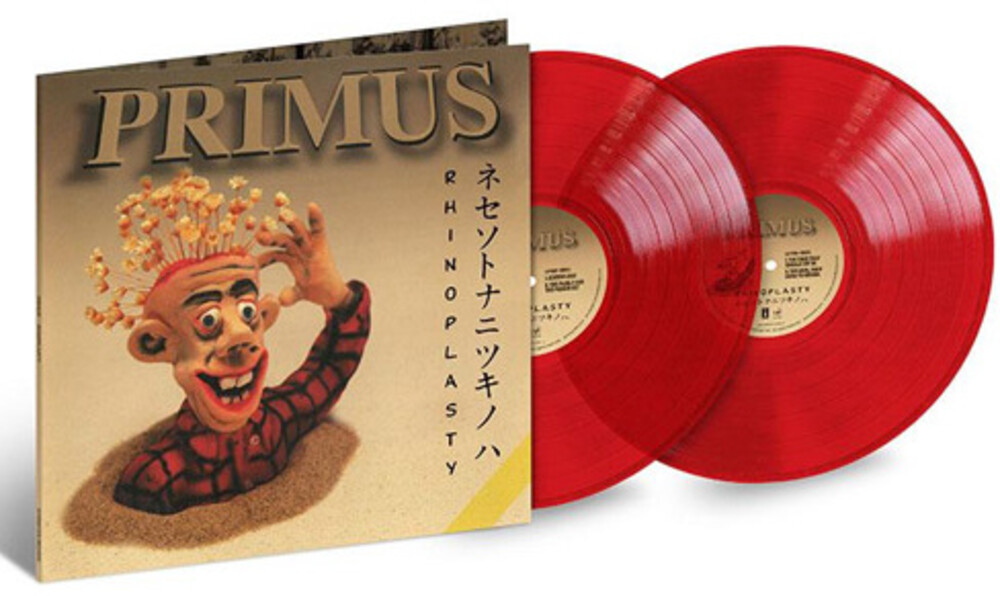 Primus - Rhinoplasty [Translucent Red 2LP]