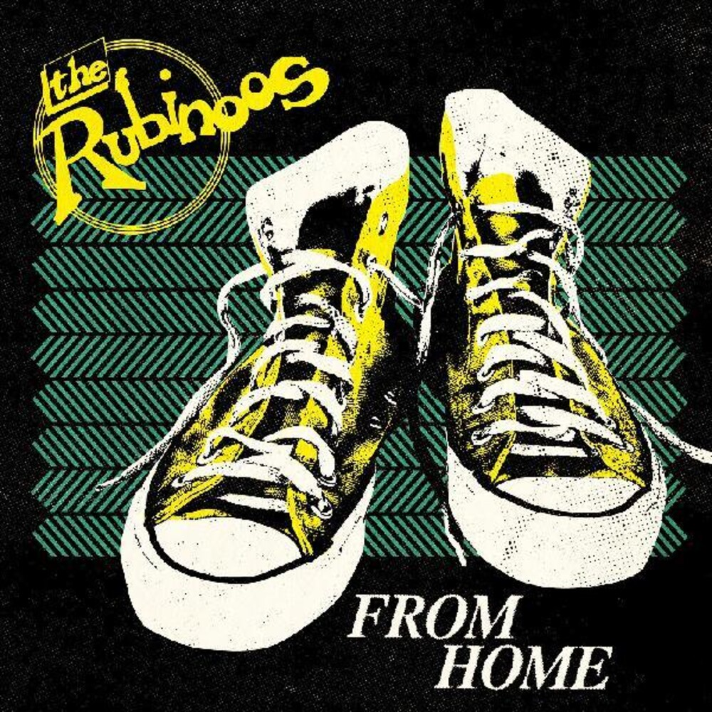 The Rubinoos - From Home [First Pressing Black/Yellow Splatter LP]