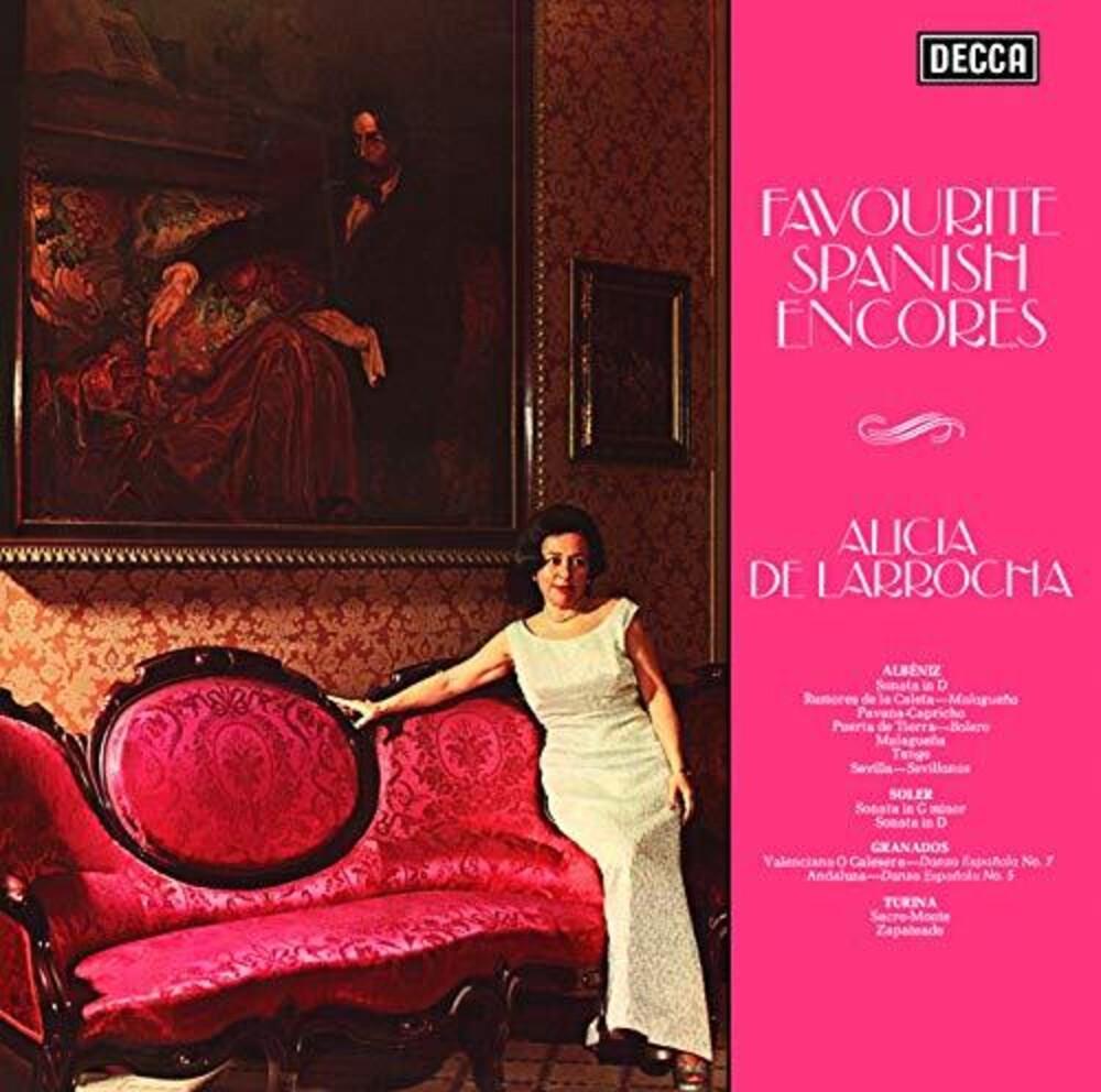 De Alicia Larrocha - Favourite Spanish Encores [Limited Edition] (Jpn)