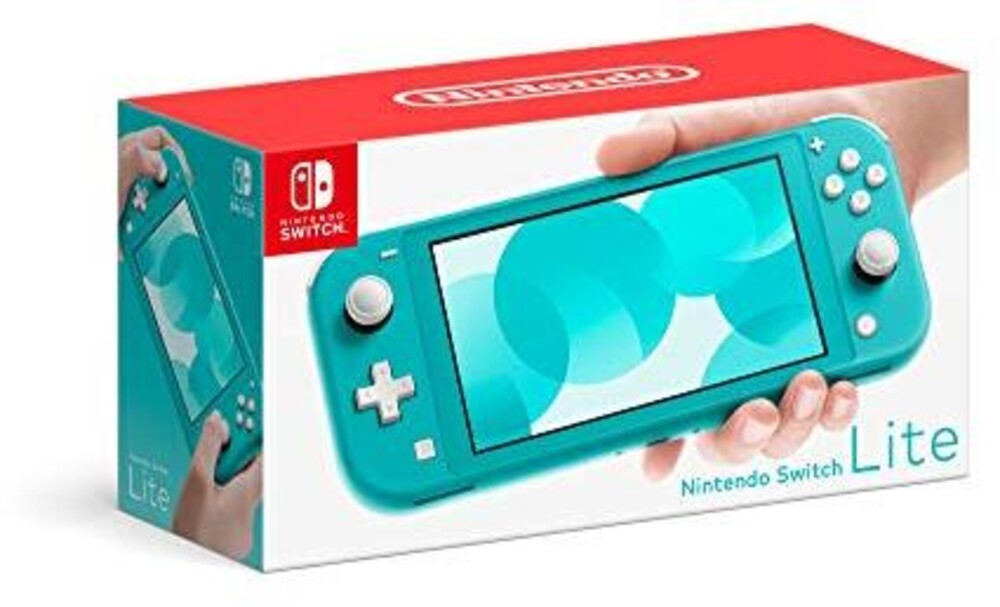 Swi System: Lite - Turquoise - Nintendo Switch Lite - Turquoise