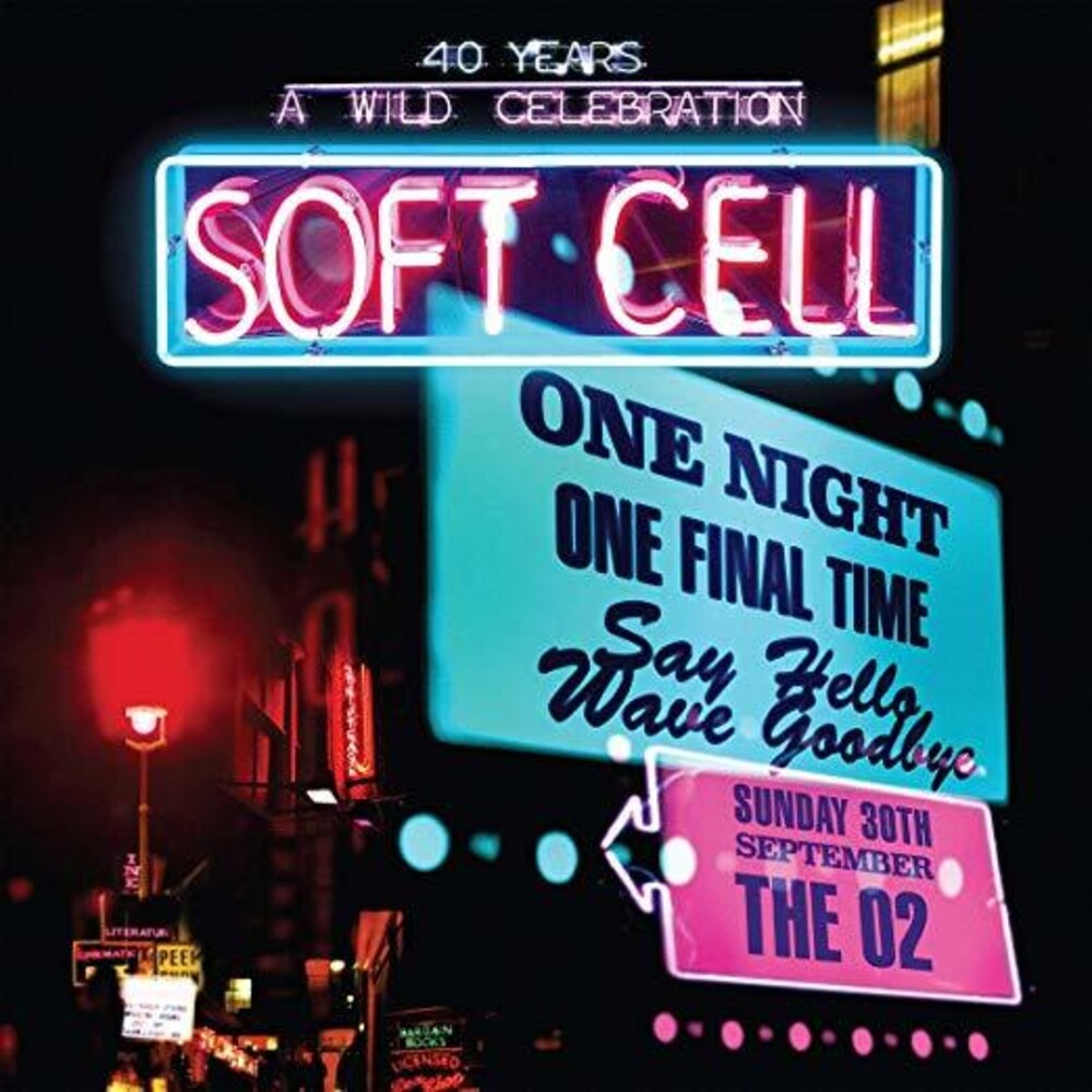Soft Cell - Say Hello Wave Goodbye: Live At The O2 Arena (3pc)