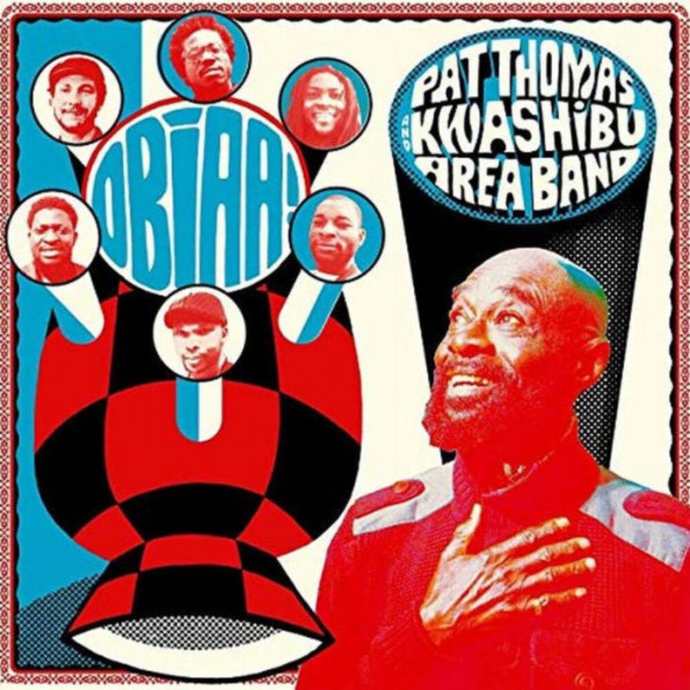 Pat Thomas & Kwashibu Area Band - Obiaa (Dlcd)