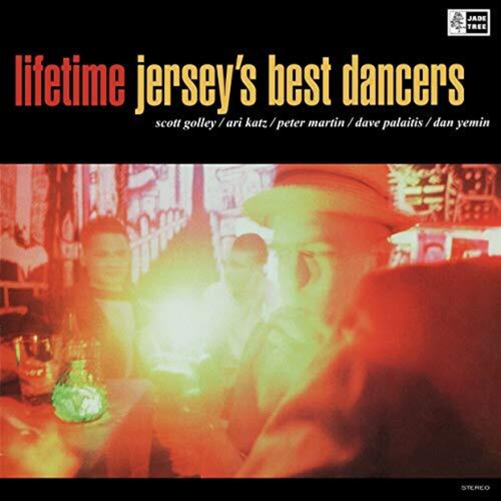 Lifetime - Jersey's Best Dancers [Limited Edition Translucent Clear w/Black Smoke LP]