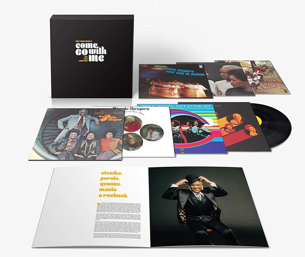 The Staple Singers - Come Go With Me: The Stax Collection [7 LP]